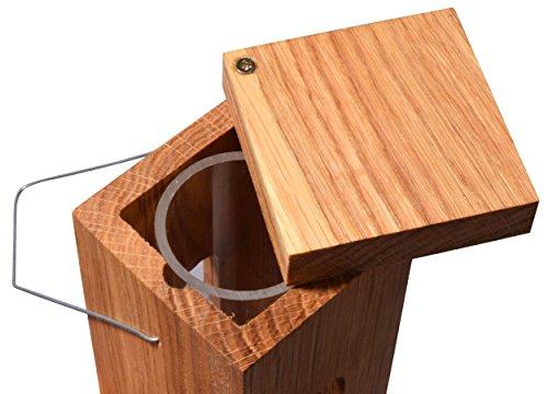 Luxus-Vogelhaus 46770e Edler Futterspender