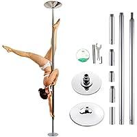 Skaize Pole-Dance Stange Fitness Tanzstange - Profi Extended Set (bis 3.25m Deckenhöhe)