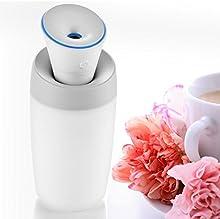 Humidificador de Aire Difusor Humidificador UltrasónicoPerfecto para Dormitorio, Hogar, Oficina, Baño, Coche etc.