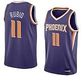 K&A Camiseta Ricky Rubio Phoenix Suns Morado para Hombre & Niño, Camiseta Ricky Rubio Phoenix Suns Icon Edición Swingman para Hombre & Niño (Morado, Hombre M)