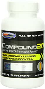 USP Labs 0.35 lb Compound 20 - 120 Capsules