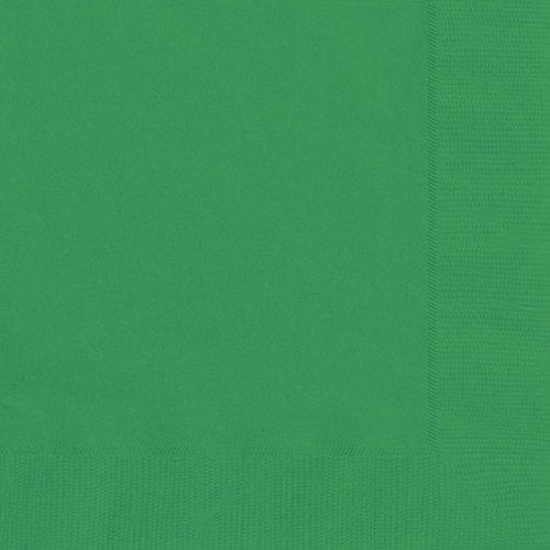 Unique Party Papier Serviette (12 Stück) (Einheitsgröße) (Emerald (Party Karneval Supplies)
