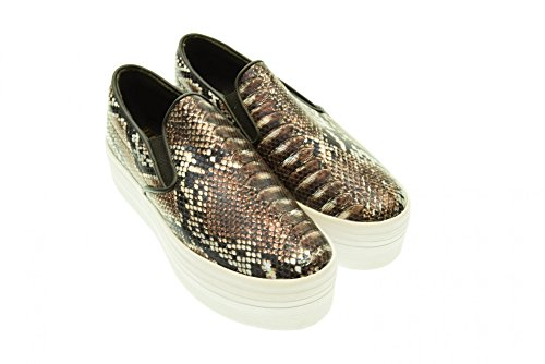 JC PLAY BY JEFFREY CAMPBELL SLIP ON Grey