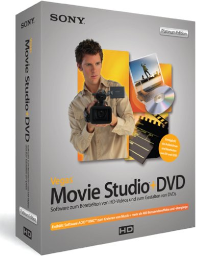 Sony Vegas Movie Studio + DVD Platinum - Vegas 6 Sony