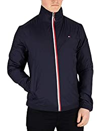 Tommy Hilfiger Red White Zip Jacket, Chaqueta para Hombre