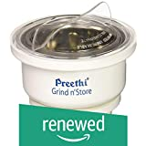 (Renewed) Preethi MGA-502 0.4-Litre Grind and Store Jar (White)