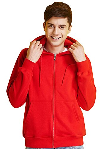 jkqa-manner-fleece-pullover-voller-ecosmart-m-red