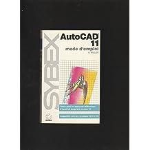 AutoCAD 11 - mode d'emploi