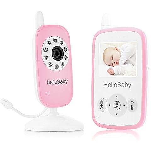 HelloBaby HB24 Bébé Moniteur Baby Monitor 2.4