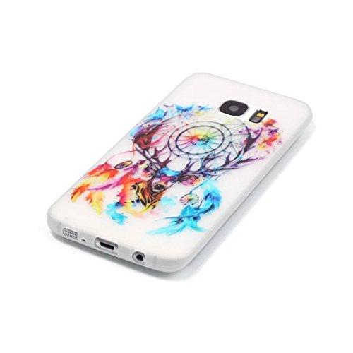 Coque Samsung Galaxy S6 Edge Plus TPU Case Cover Absorption de Choc Hull, Vandot Samsung Galaxy S6 Edge Plus Etui Silicone Souple Transparente Case Très Légère Housse Ajustement Parfait Coque pour Sam Light-net