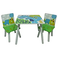 Kidsaw, Rawrr Table and 2 Chairs