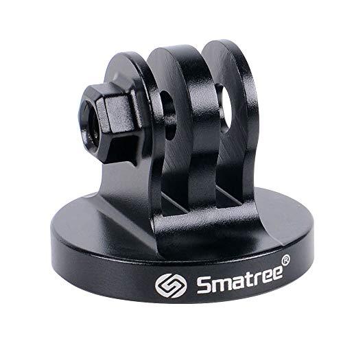 Smatree® Aluminium Stativ Mount Adapter für GoPro Hero8/Hero2018/7/6/5/4/3/3+/3/2/1,SJ4000/SJ5000(Schwarz)
