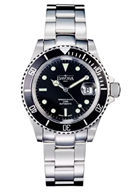 Reloj Davosa 16145550 de caballero automático con correa de acero inoxidable plateada