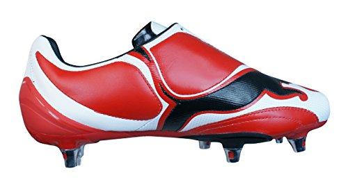 Puma V3.08 SG Hommes Bottes de football en cuir red