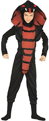 Kostüm Ninja Kind Cobra - Fancy Me Jungen Mädchen Cobra Ninja Japan Schlange Halloween Horror unheimlich Kostüm Kleid Outfit 3-12 Jahre - 3-4 Years