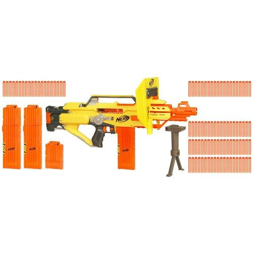Nerf Ecs 60 N Strike Stampede Pack Pistolet Stampede Avec 100 Cartouches