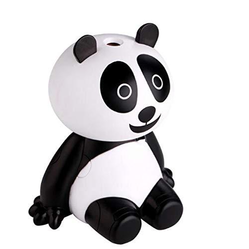Qi Tai - Humidificador de Aire del hogar Humidificador de la Panda USB de la Historieta del humectador del pequeño Aire Mini Coche, humectador de Escritorio de la decoración