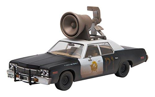 Greenlight Collectibles–86423 –Modellauto Dodge –Monaco –Polizei Illinois 1980 –Weiß/Schwarz– Maßstab 1:43