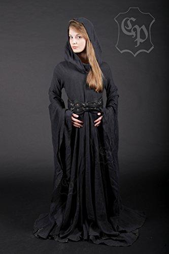 3d7a6b9963911f CP Abenteuer Fantasy Kleid Waldprinzessin schwarz (XX-Large)