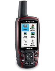 Garmin GPS Handgerät GPSmap 62stc, schwarz/rot, 010-00868-22