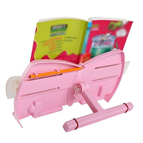 Libro Estandarte Lectura Estantería Niño Estudiantes de Primaria 18,5 * 36 Cm Rojo ( Color : Pink )