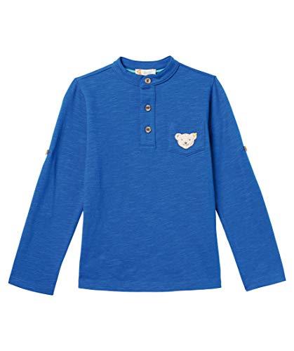Steiff Jungen Baby Shirt Langarm Weiss (100) 86 -