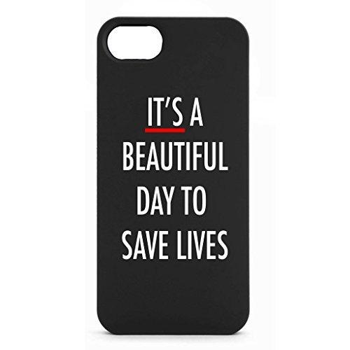 """Preisvergleich Produktbild """"Es ist ein Schöne Tag sich Save Leben"""" Handy Handy schutzhülle Schwarz - iPhone 6 Plus"""