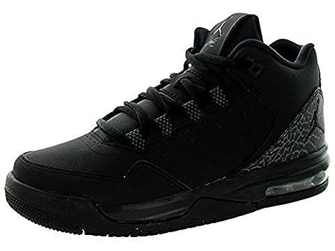 Nike Jordan Flight Origin 2 BG, Chaussures de Sport Garçon, Noir / Gris (Black / Black-Dark Grey), 38 EU