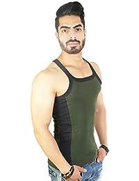 Zimfit Men's Gym Vest (Green)
