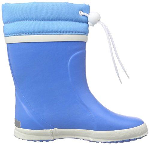 Bergstein Bn Winterbootc, Bottes mi-hautes en caoutchouc avec doublure chaude mixte enfant Bleu - Blau (Cobalt)