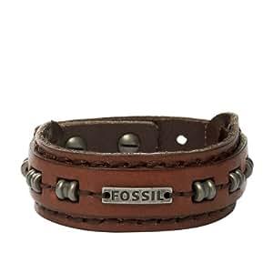 Fossil Jewelry Herren-Armband 26 cm Leder braun JA5756716
