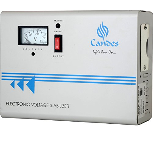Candes C440 Voltage Stabilizer for AC Upto 1.5 Ton (170V - 270 V) (Ivory) (Copper Binding with 3 Years Warranty)