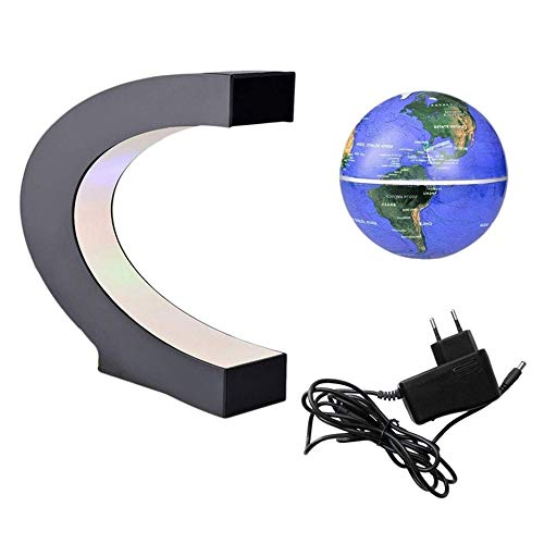 Levitation Anti Gravity Globe Magnetic Floating Globe World Map with LED  Light for Children Gift Home a7ca62ed91cc