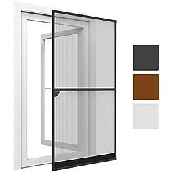 Sol Royal® SolProtect estupenda malla mosquitera para puerta - Marco de aluminio - 100x215 cm - Antracita