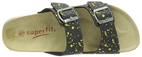 Superfit Fussbettpantoffel - Sandales - Semelle intérieure Gris (stone Multi)