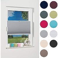 Plissee auf Maß Grün für alle Fenster Montage in der Glasleiste Faltrollo 603