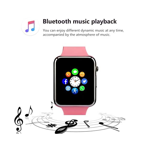 Reloj Inteligente, con Bluetooth y Ranura para Tarjeta SIM para Usar Como Teléfono Móvil. Reloj Deportivo con Rastreador… 6