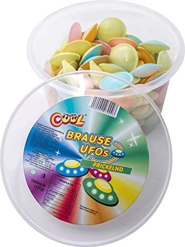 Preisvergleich Produktbild Cool Brause Ufos 100 Stück in Frischhaltedose (1 x 127 g)