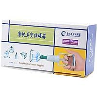 Kays Schröpfen Set Chinesische Schröpfkopf-Therapie-Set, 6 Vakuum-Luft-Saugnäpfe Mit Pumpgriff, Für Rücken/Nackenschmerzen... preisvergleich bei billige-tabletten.eu