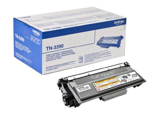Preisvergleich Produktbild Brother Original Tonerkassette TN-3390 schwarz (für Brother HL-6180DW, HL-6180DWT, DCP-8250DN, MFC-8950DW, MFC-8950DWT)