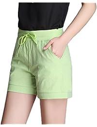 YiLianDa Hotpants Sommer Kurze Hose Shorts Stoffhose Bermuda Panty d8ff9ce293