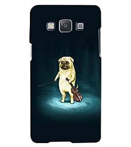 Citydreamz Dog/Violin/Music/Abstract Hard Polycarbonate Designer Back Case Cover For Samsung Galaxy E7