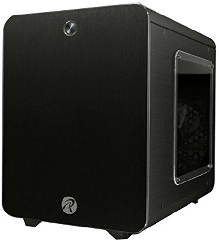 RAIJINTEK Metis Plus Mini-Tower Negro Carcasa de Ordenador - Caja de Ordenador (Mini-Tower, PC, Aluminio, SPCC, Mini-ITX, Negro, 1,5 mm)