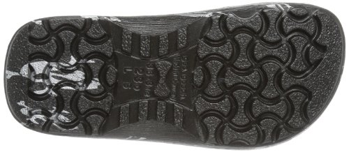 Birki's PROFI BIRKI AS 74081 Unisex-Erwachsene Clogs & Pantoletten Schwarz (BLACK SKULL)