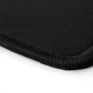 NF-Velours Fußmatten Schwarz in Top-Qualität, Randfarbe Schwarz A-T-S_Q100_R300_00302
