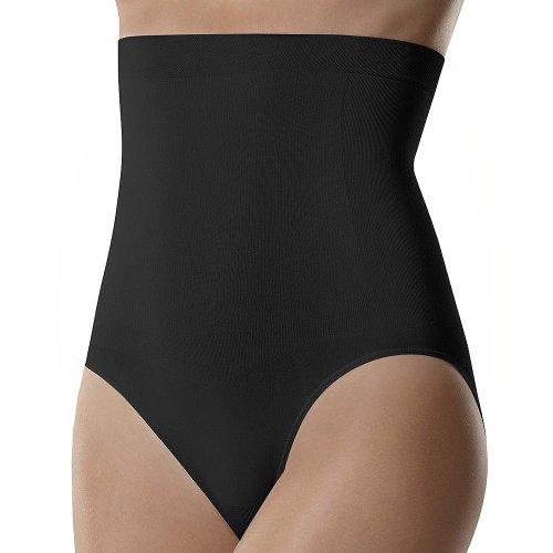Plie 50041Nahtlose, Figurformende Taillenslips, Shapewear, Slikinstreifen Gegen Rutschen, Top Qualität Schwarz