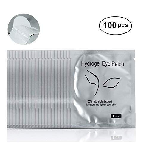 Patch Extension De Cils 100 Paires Gel Patch Non Pelucheux Masque Pour Les Yeux Outil De Beauté Collagène