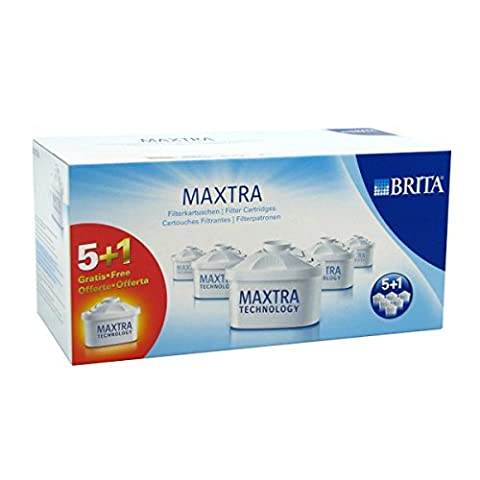Brita 101929 Pack 5+1 Cartouches Maxtra Brita