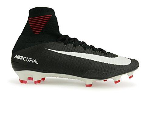 Nike Herren Mercurial Superfly V Df Fg Fußballschuhe BLACK/BLACK-WHITE