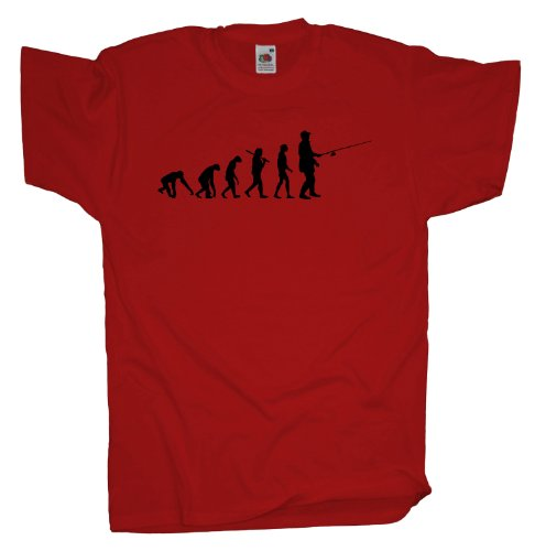 Ma2ca - Evolution - Angler Angelroute T-Shirt Red